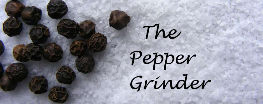 Pepper Grinder Logo